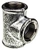 Georg Fischer Malleable Iron Fitting Tee, 1 in