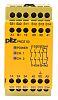 e Relé de seguridad Pilz 4 774310 3, 1, 3, 2 canales, Automático, supervisado, 24 Vac / dc, 121mm, 87mm, Roscado, 45mm,