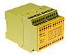 Pilz biztonsági relé, 2 csatornás, 24 V dc, 1 segédérintkező, biztonsági é.: 8, PZE 9 sorozat