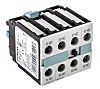 Siemens Auxiliary Contact - 2NO/2NC, 4 Contact, Front
