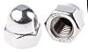 RS PRO Stainless Steel, Hex Nut, M12