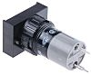 EAO Latching White LED Push Button Switch, IP40,