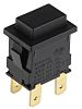 Arcolectric Double Pole Double Throw (DPDT) Momentary Push Button Switch, 12.9 x 19.1mm, Panel Mount, 250V ac