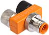 Belden Tee 5 Pole M12 Socket Plug Adapter