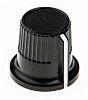 RS PRO Potentiometer Knob, Grub Screw Type, 12mm