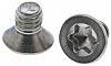 RS PRO Countersunk Head Stainless Steel Hexalobular Recess A2 304 Plain