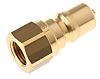 Parker Brass Female Hydraulic Quick Connect Coupling BH2-61-BSPP