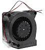 ebm-papst Centrifugal Fan 120.6 x 120.6 x 37.3mm,