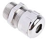 RS PRO M20 Cable Gland, Nickel Plated Brass,
