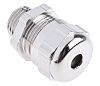 RS PRO M16 Cable Gland, Nickel Plated Brass,