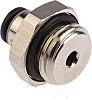 Legris Threaded-to-Tube Pneumatic Fitting G 1/4 to Push
