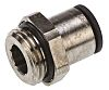 Legris Pneumatic Straight Threaded-to-Tube Adapter, G 1/2 Male,