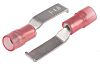 Cosse à sertir type languette, 4.6mm x 0.75mm, Rouge 16AWG 1.5mm² 22AWG 0.5mm² Non-Enveloppé
