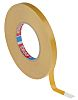 Tesa 4970 White Double Sided Plastic Tape, 12mm