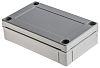 Fibox MNX, Grey Polycarbonate Enclosure, IP66, IP67, 130 x 80 x 35mm