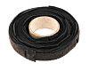 RS PRO Black Hook & Loop Cable Tie,