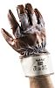 Ansell Hyd-Tuf, Brown Nitrile Coated Work Gloves, Size