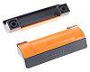 Elesa Matte Black, Orange Plastic Concealed Fixings Drawer