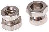 10Nm Plain Stainless Steel Shear Nut, M6