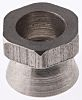 18Nm Plain Stainless Steel Shear Nut, M8