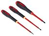 Bahco VDE Slotted; Phillips Screwdriver Set 5 Piece