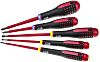 Bahco Engineers Slotted; Pozidriv Screwdriver Set 5 Piece
