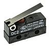 SPDT-NO/NC Hinge Lever Microswitch, 10.1 A @ 250 V ac