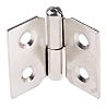 Pinet Nickel Plated Steel Concealed Hinge with a