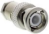 Radiall 50Ω Straight Cable Mount BNC Connector, Plug,