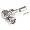 Radiall 75Ω Right Angle Cable Mount BNC Connector,