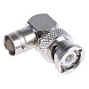 Right Angle 50Ω RF Adapter BNC Plug to