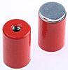 Eclipse 9.5mm Threaded Hole Aluminium Alloy Pot Magnet,