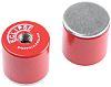 Eclipse 20.5mm Threaded Hole Aluminium Alloy Pot Magnet,
