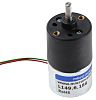 Micromotors Brushed Geared DC Geared Motor, 6 V,
