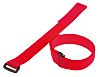 Thomas & Betts Red Hook & Loop Cable Tie, 304.8mm x 19.05 mm