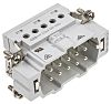 TE Connectivity HE Heavy Duty Power Connector Insert,