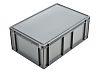 Schoeller Allibert 45L Grey Plastic Storage Box, 246mm