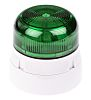 Klaxon Flashguard QBS Green Xenon Beacon, 110 V