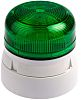 Klaxon Flashguard QBS Green Xenon Beacon, 12 V