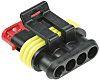 TE Connectivity, AMP Superseal 1.5 Automotive Connector Plug