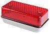 RS PRO, Rectangular Red LED LED Brick Light