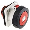 MENNEKES, SoftCONTACT IP67 Red Panel Mount 5P Industrial