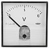 HOBUT DC Analogue Voltmeter, 10V, 56 (Dia.) mm,