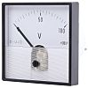 HOBUT DC Analogue Voltmeter, 100V, 56 (Dia.) mm,