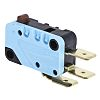 SPDT-NO/NC Button Microswitch, 16 A @ 250 V