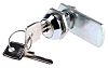 Panel to Tongue Depth 19mm Chrome Plated Camlock,