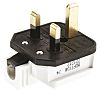 Masterplug UK Mains Connector BS 1363, 13A, Cable Mount, 250 V ac