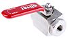 RS PRO Stainless Steel Line Mounting Hydraulic Ball