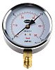 Brannan 34/602/0 Analogue Positive Pressure Gauge Bottom Entry,