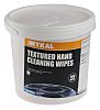 Mykal Industries Tub of 100 White Industrial Wipes